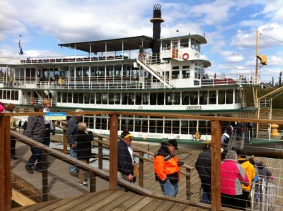 Dock at Riverboat Discovery